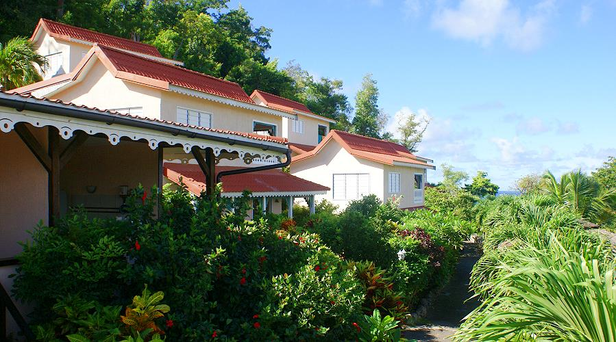 Anoli Village a Sainte Anne, Martinica
